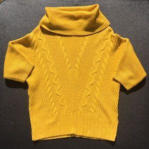 Antonio Melani cowl neck 100% wool sweater sz S